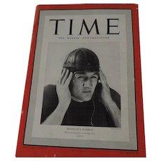 Time Magazine,  November 6, 1939