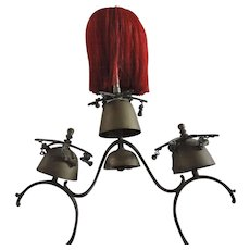 Victorian Brass Bells and Horse Hair Terret