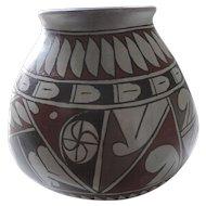 "Pueblo Pottery, Red, Black, Grey, 6 1/2"",  Nelso Parra,"