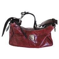 Vintage Dooney & Bourke Oxblood Red Handbag, Never Used
