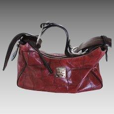 Vintage Dooney & Bourke Oxblood Red Handbag, Never Used