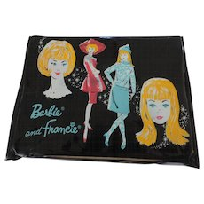 Barbie and Francie Vinyl Lunch Box, 1965, Thermos