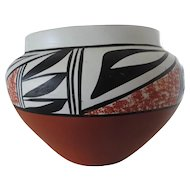 Pueblo Pottery, L. Toya, Jemez, NM,