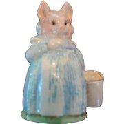 Beswick Beatrix Potter, Aunt Pettitoes Figurine, 1970