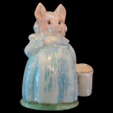 Beswick Beatrix Potter, Aunt Pettitoes Figurine, 1970