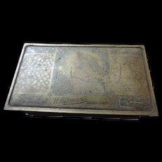 """Whitman's Salmagundi Embossed Candy Box, 7 1/4"""" X 4 1/8"""" X 2 1/8"""""""
