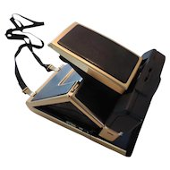 Very Rare 24K Gold Plated Polaroid SX-70 Sonar One Step Camera