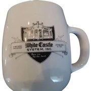 White Castle Restaurant Coffee Mug/Ashtray