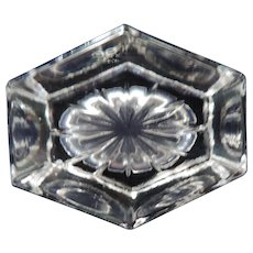 Six Sided Oval Salt Cellar