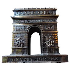 Souvenir Architectural Model, Arc de Triomphe, Paris, France