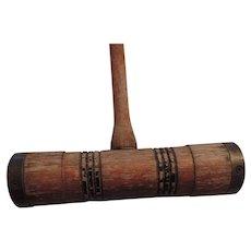 Antique Hardwood Croquet Mallet