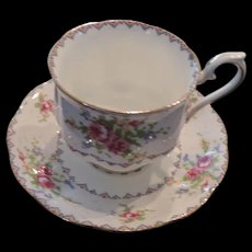 Royal Albert Petit Point China, Cup and Saucer