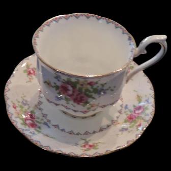 Royal Albert Petit Point China, Cup and Saucer