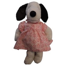 "Peanuts, Snoopy's Sister Belle, Plush Toy, 16"", United Features Syndicate, 1958"