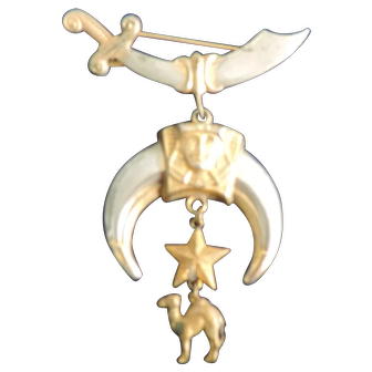 "Masonic Shriner Claw Pin, 4"" Long"