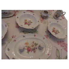 Mitterteich Meissen Floral China Serving Pieces