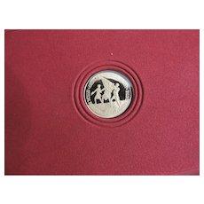 The Official Bicentennial Gold Commemorative Set, 999 Gold, 20 Grains
