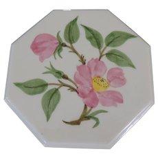 Franciscan Desert Rose Octagonal Tea Tile/Trivet