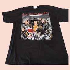 The Black Crowes, 1992, Black, Concert T-Shirt, Large