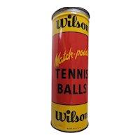 Wilson Match Point Tennis Ball Tin