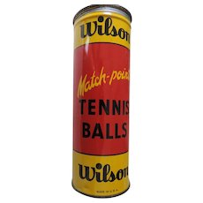 Wilson Match Point Tennis Ball Tin