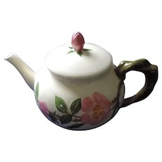 Franciscan Desert Rose Teapot, Chip On Spout