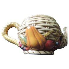 Vanson Basketweave Teapot