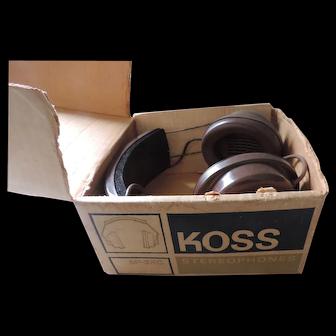 Koss SP-3XC Stereo Head Phones, Original Box