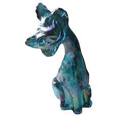 Fenton Alley Cat, Iridiscent Blue