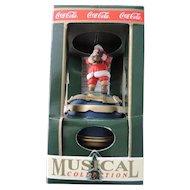 Coca Cola Musical Christmas Ornament, Travel Refreshed, Original Box