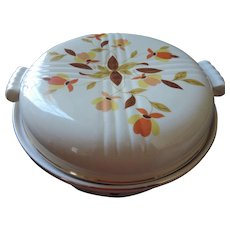 Hall China Autumn Leaf Covered Casserole, 2 Qt