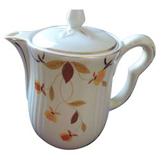 Hall China Autumn Leaf Coffee Pot, Jewel Tea, 8 Cup