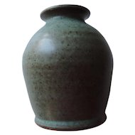 Vintage Orcas Island, Crow Valley Pottery Bud Vase