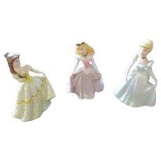 Disney Princesses, Set of 3