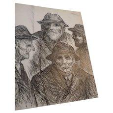 "Don Hirleman Drawings, 22"" X 28"", Set of 8"