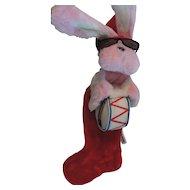 Energizer Bunny Christmas Stocking, 1993
