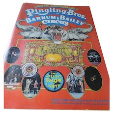 100th Anniversary Ringling Bros Barnum & Bailey Circus Souvenir Program