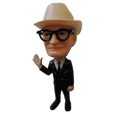 Barry Goldwater Plastic Campaign Doll, Remco