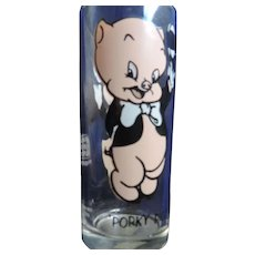 Porky Pig, Pepsi, 1973, Drinking Glass, 6 1/2""