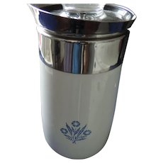 Corning Ware Cornflower Blue 9 Cup Percolator