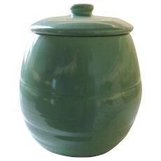 Bauer Green Cookie Jar, La Linda