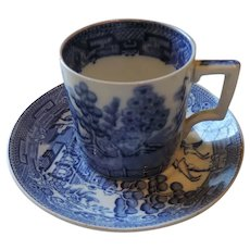 Wedgwood Willow Demitasse Cup and Saucer