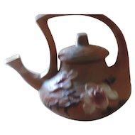 Roseville Magnolia, Brown Tea Pot