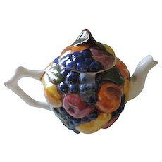 Mixed Fruits Tea Pot, 10 1/2""
