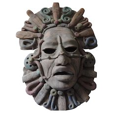 Aztec Design Clay Face Mask