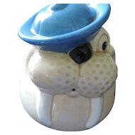 Wally Walrus, Metlox Cookie Jar