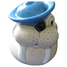 Wally Walrus, Metlox Cookie Jar