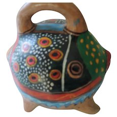 Mexican, Talavera Bank with Top Handle
