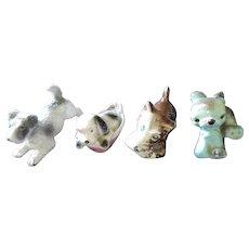 Dog Figurine Quartet