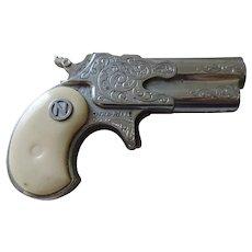 Dyna-Mite Derringer Cap Gun, Nichols, 1960's